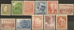 Denmark  1946/1952. Lot MNH Stamps. - Dinamarca