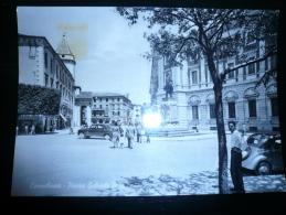 Campobasso Piazza Pepe Usata Francobollo Caduto- - Campobasso