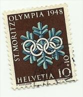 1948 - Svizzera 450 Olimpiadi C2843, - Winter 1948: St. Moritz