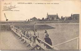 CAYEUX-sur-MER - Le Barrage Du Port De Cayeux - Cayeux Sur Mer