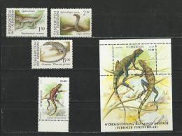 Ouzbekistan: 7 + 9 + 10 + 142 + BF 17 **  Reptiles - Non Classificati