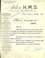 P0426 - Andenne: Anciens Ateliers Simon & Fils: Lettre 1922 - 1900 – 1949