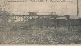QQ268/ C P A -LA GUERCHE DE BRETAGNE  (35) ETABLISSEMENTS  G. PAILLARD - La Guerche-de-Bretagne