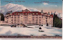 TATRY -  Starý Smokovec - Altschmecks,  Ótátrafüred  -------  GRAND  Hotel - Slovaquie