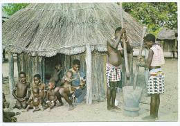 Cpsm 10,5x15cm Bon Etat ,    Zimbabwe    B'tonka Village Life  Rhodesia , Carte Rare - Zimbabwe