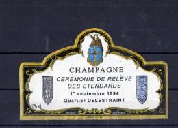 Champagne Cuvée Du Quartier Delestraint - Militaria