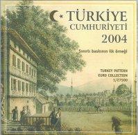 TURKIJE  2004 PATTERN EURO COIN - Coins