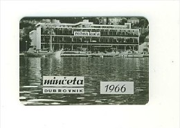 Old Pocked Calendar - Dubrovnik 1966, Minčeta - Calendriers