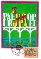 CARTOLINA - EUROPA CEPT 1984 - ANNO 1984 - 2 VALORI - 6. 1946-.. Repubblica