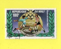 REP. DU MALI ,,, ANNEE PREOLYMPIQUE   ,,, **  180  F. ** ,, POSTE 1983 ,, PA. ,,TBE - Mali (1959-...)