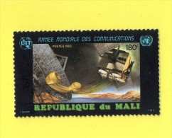 REP. DU MALI ,,,  ANNEE  MONDIALE  DES  COMMUNICATIONS ,,, **  180  F. ** ,, POSTE 1983 ,,,TBE - Mali (1959-...)