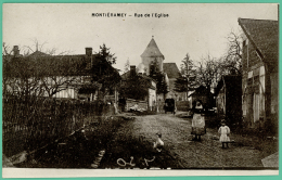 Montiéramey -  Aube - Rue De L'Eglise  -   Animée - Troyes
