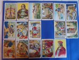 Colección 150 Cromos Antiguos Juncosa, Cristóbal Colón, Buena Conservación. Ver Estado En Fotos Y Detalles - Chocolate