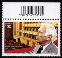 ÖSTERREICH 2010 ** Ioan HOLENDER / Wiener Staatsoper - MNH - 1945-.... 2ème République