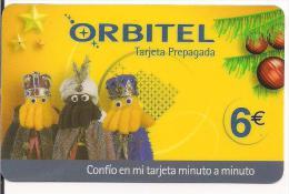 TARJETA ORBITEL REYES MAGOS NAVIDAD - Espagne