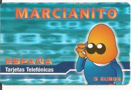 TARJETA PREPAGO MARCIANITO - Espagne
