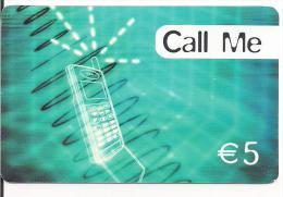 TARJETA PREPAGOM CALL ME 5E - Espagne