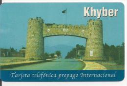 TARJETA PREPAGO KHYBER - Espagne