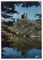 CP, 15, RETENUE DE GRANDVAL, Lac Du Barrage, Le Site Du Château D'ALLEUZE, Ecrite - Francia