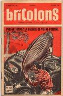 """REVUE """" BRICOLONS"""") TECHNIQUES ECRITE ET ILLUSTREE : CONSTRUIRE BOOLING DE TABLE, BALANCE MENAGERE , AUTRES ; LISTE - Technical Plans"""