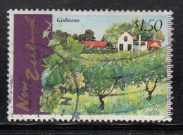 New Zealand Used Scott #1433 $1.50 Gisborne - Vineyards - Vins & Alcools