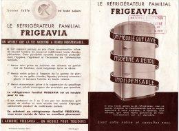USINE FRIGEAVIA ) VUE AERIENNE, ENTREPOT, LE REFRIGERATEUR FRIGEAVIA ; NOTICES TECHNIQUES - Alimentos