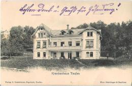 """Krankenhaus Teufen (vor 1904) Mit """"Schnapszahl-Stempel"""" STEIN 2.III.04 (Zahlenfolge 2/3/4) - AR Appenzell Rhodes-Extérieures"""