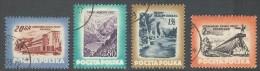 Polen / Pologne / Poland 1953 : Mi.  827/830 ʘ - Naturschönheiten Und Kurorte Polens . . Zw4611 - 1944-.... République