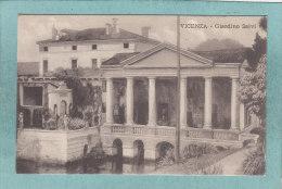 VICENZA  -  GIARDINO  SALVI  -  1918  -  ( Timbre Enlevé ) - Vicenza