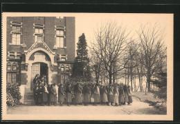 CPA Brüssel / Bruxelles, Franciscanessen Missionarissen Van Maria - Bruxelles-ville