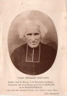 Cpa,  Abbé BERAUD, Servant De Correspondance Entre Un Prêtre Et Un Paroissien (25.2) - Devotion Images