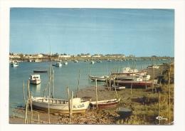 Cp, 85, L'Aiguillon-sur-Mer, Le Port, Voyagée 1971 - Autres Communes