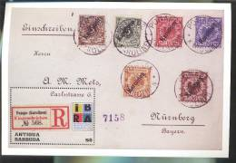 MNH ANTIGUA & BARBUDA #2259 : SOUVENIR SHEET ;  IBRA ; WORLD STAMP EXIBITION ; GERMAN STAMPS - Antigua And Barbuda (1981-...)
