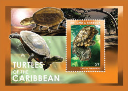 ANTIGUA & BARBUDA MINT N.H SCOTT # 3204 ; IGPC 1219 SS ( MARINE LIFE ;  TURTLES - Antigua Et Barbuda (1981-...)