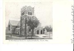 St. Paul's Episcopal Church, Holyoke, Massachusetts - United States