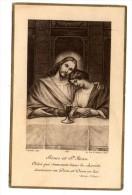 Images Religieuses , Image Pieuse , 2 Scans , 1917 , Première Communion , église Du Sacré Coeur De CASTELLANE - Images Religieuses