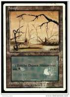 Karte Magic The Gathering  -  Land  -  Sumpf  -  Deutsch - Magic The Gathering