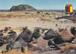 CAMEROUN,afrique,carte Avec Logo,réserve De Waza,l´afrique Sauvage - Cameroun