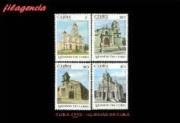 CUBA MINT. 1992-21 IGLESIAS DE CUBA - Cuba