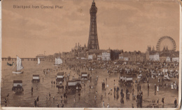 Blackpool From Central Pier - Blackpool