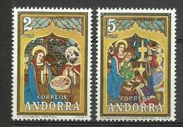 ANDORRA-  ESTOS SELLOS O UNOS MUY SIMILARES SIN FIJASE LLOS +++ C. M.A. Nº 79/80 - Andorra Española