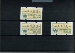 242543425 BOLIVIE POSTFRIS MINT NEVER HINGED POSTFRISCH EINWANDFREI ATM/FRFAMA MICHEL 1 - Bolivie
