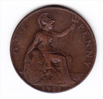 COINS GREAT BRITAIN  KM 810    1911.    (GB 12) - 1902-1971 : Post-Victorian Coins