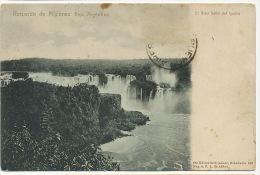 Recuerdo De Misiones El Gran Salto De Iguazu Edit 685 Rosauer - Argentina