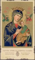Santino - Holy Card - Nostra Signora Del Perpetuo Soccorso - Santini