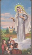 Santino - Holy Card - Madonna Di Medjugorje - Images Religieuses