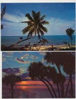Bahamas 2 Cards Years Sixties - Bahamas
