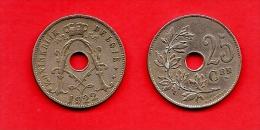 BELGIUM , 1910-1929, Circulated Coin, 25 Centimes, Dutch, Km69. C1638 - 1909-1934: Albert I