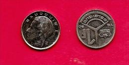 BELGIUM , 1989-93, Circulated Coin, 1 Franc, French, Km170. C1643 - 1951-1993: Baudouin I