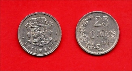 LUXEMBURG, 1954-83, Circulated Coin, 25 Centimes, Aluminum, Km45a, C1664 - Luxemburg